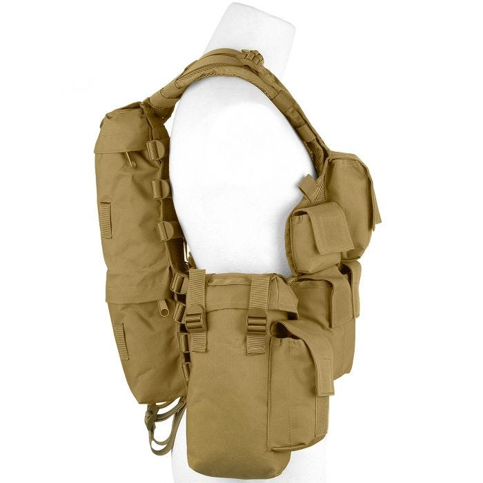 MFH South African Assault Vest Coyote Tan