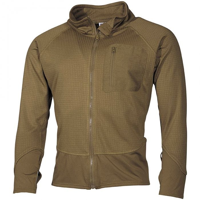 MFH US Tactical Soft Shell Jacket Coyote
