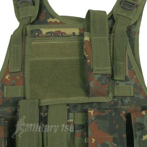 MFH Tactical MOLLE Vest Ranger Flecktarn