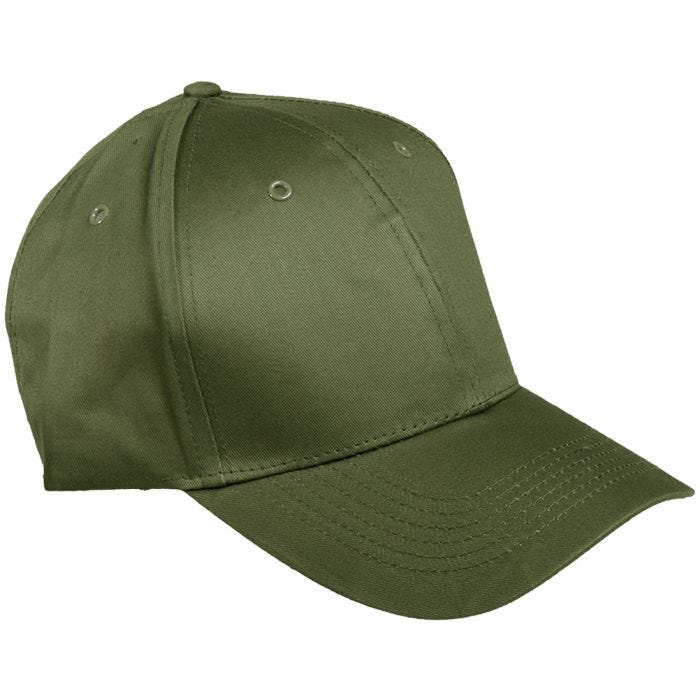 Mil-Tec Baseball Cap with Plastic Band Olive