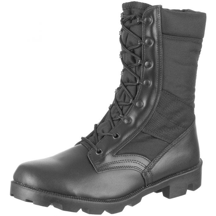Cordura US Jungle Combat Boots Black