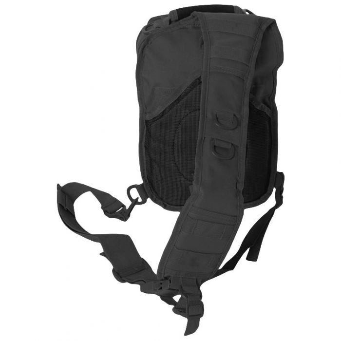 Mil-Tec One Strap Small Assault Pack Black
