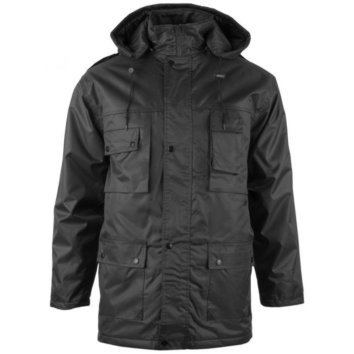 Mil-Tec Parka Dubon with Hood Black