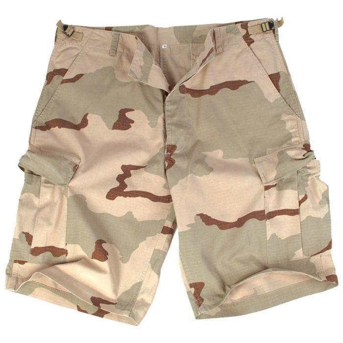 US Prewashed Ripstop Bermuda Shorts 3-Color Desert