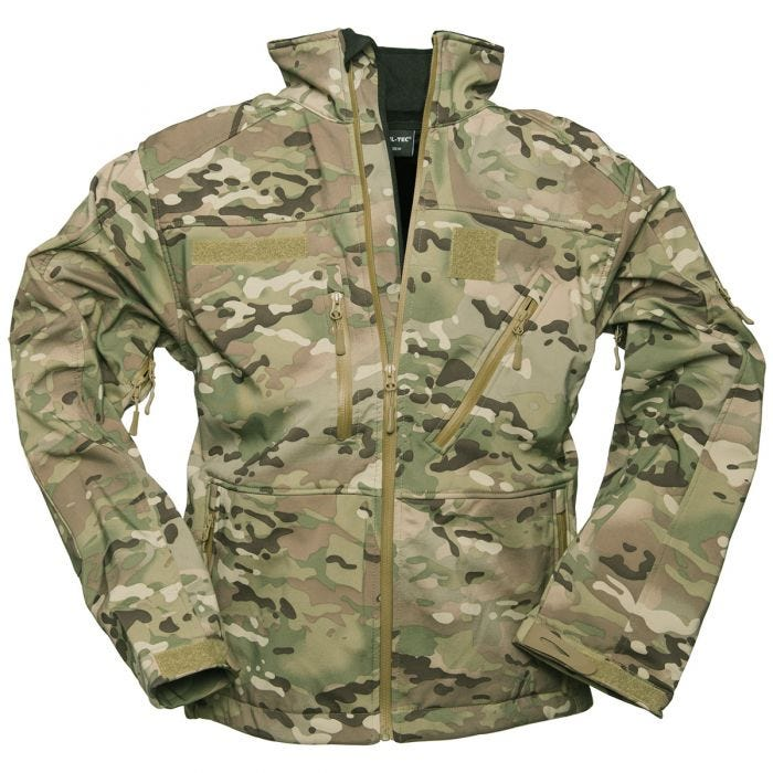 Mil-Tec Softshell Jacket SCU 14 Multitarn