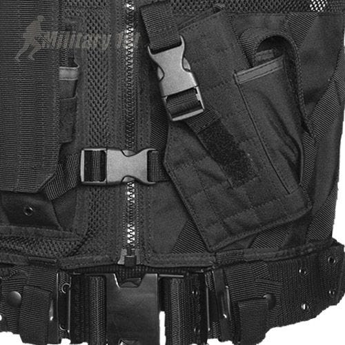 Mil-Tec USMC Tactical Vest Black
