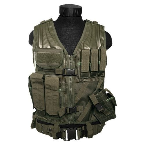 Mil-Tec USMC Tactical Vest Olive