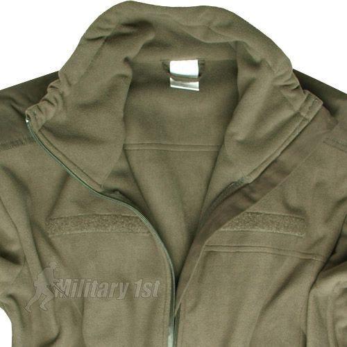 Mil-Tec Windproof Fleece Jacket Olive