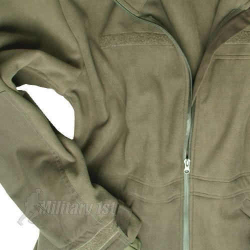 Mil-Tec Windproof Fleece Jacket Olive