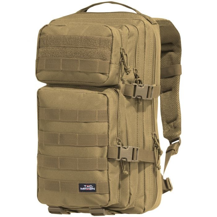TAC MAVEN Assault Backpack Small Coyote