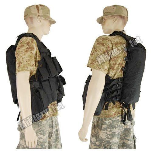 Mil-Tec South African Assault Vest Black