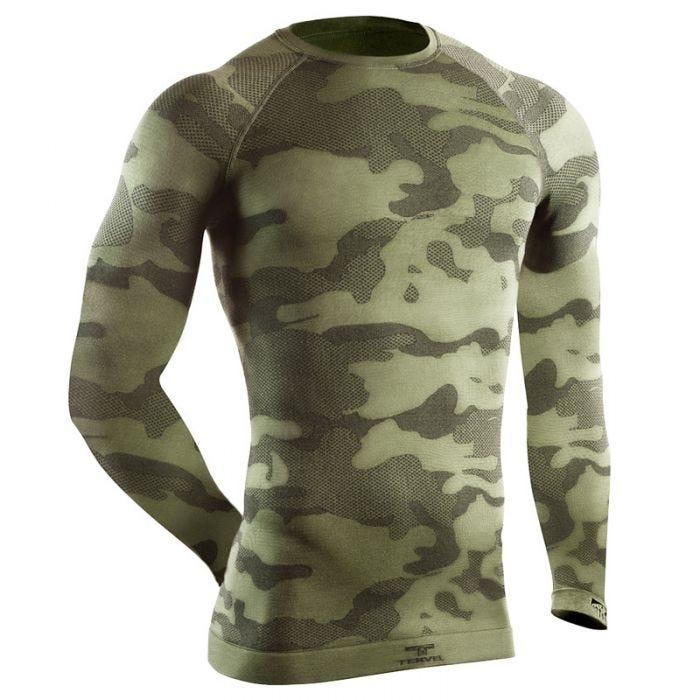 Tervel Optiline Tactical Shirt Long Sleeve Military / Gray