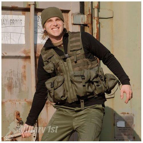 Mil-Tec Tactical Vest Modular System Olive