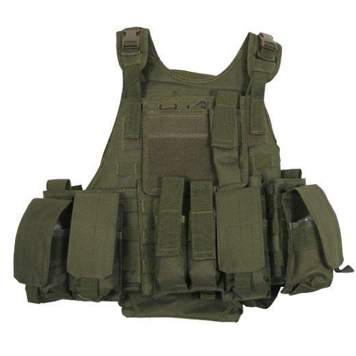 MFH Tactical MOLLE Vest Ranger Olive