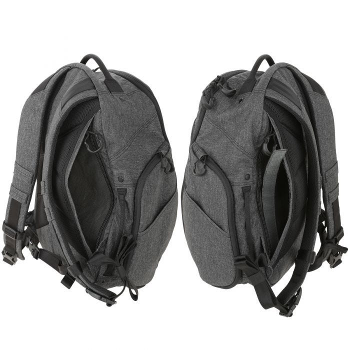 Maxpedition Entity 21 CCW-Enabled EDC Backpack Charcoal