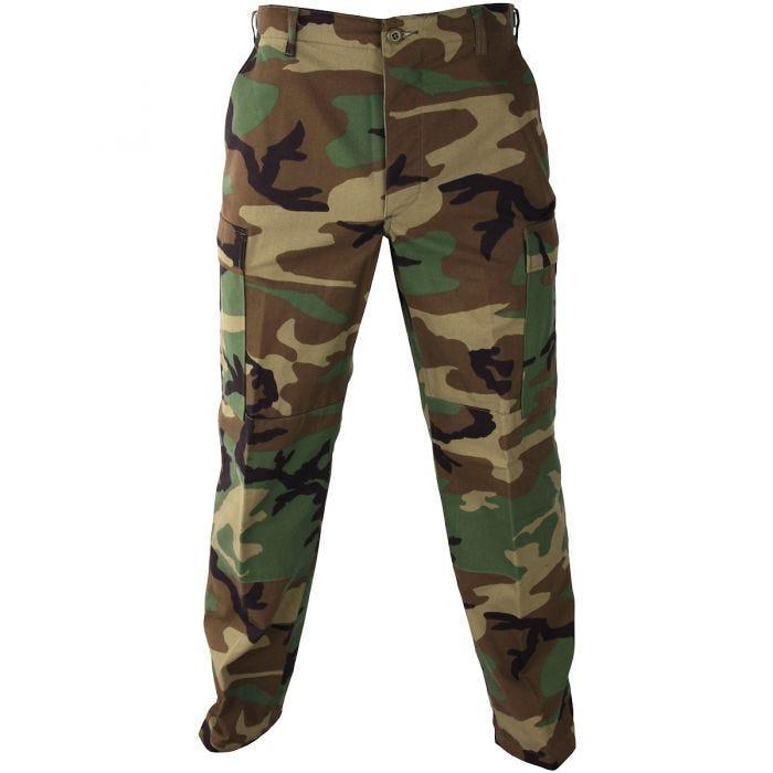 Propper Uniform BDU Trousers Polycotton Ripstop Woodland