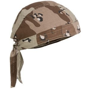 MFH Headwrap 6-Color Desert