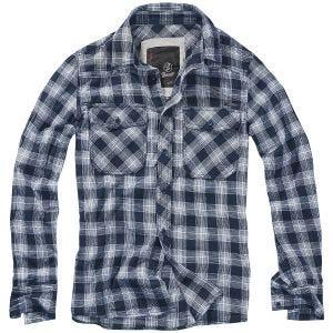 Brandit Great Creek Check Shirt Indigo Checkered