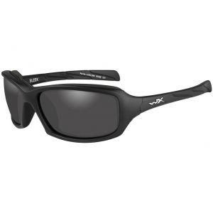 Wiley X WX Sleek Glasses - Smoke Gray Lens / Matte Black Frame