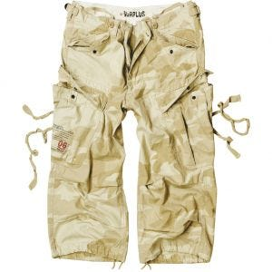 Surplus Engineer Vintage 3/4 Shorts Desert Storm