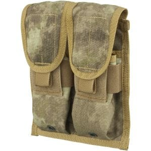 Flyye Double M4/M16 Magazine Pouch Ver. FE MOLLE A-TACS AU