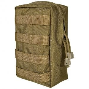 Flyye Vertical Accessories Pouch MOLLE Coyote Brown