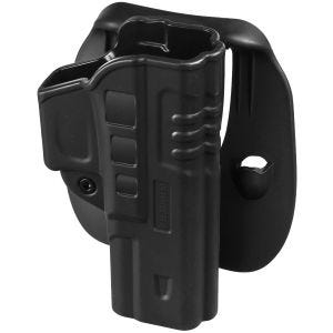 Helikon Fast Draw Holster with Paddle for Glock 17 Black