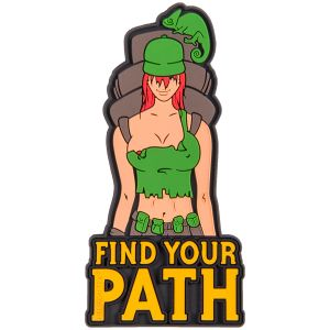 Helikon Find Your Path Patch Olive Green