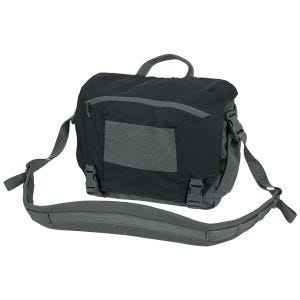 Helikon Urban Courier Bag Medium Black / Shadow Gray