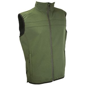 Highlander Soft Shell Gilet Jacket Olive