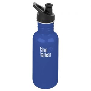 Klean Kanteen Classic 532ml Bottle with Sport Cap 3.0 Coastal Waters