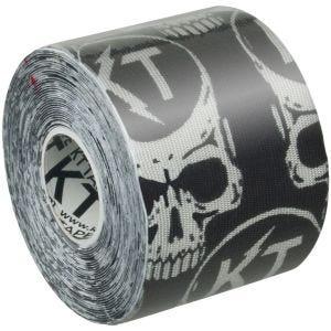 "KT Tape Consumer Synthetic Pro Precut 10"" LE Black Skulls"