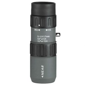 Luger MZ 5-15x17 Monocular Gray Black