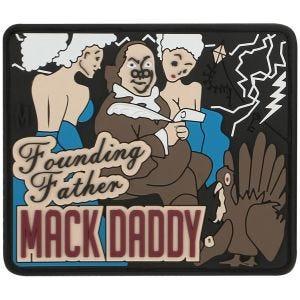 Maxpedition Ben Franklin Mack (Full Color) Morale Patch