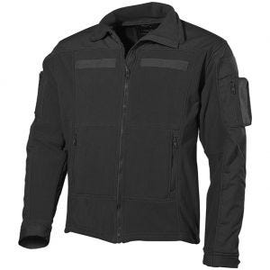 MFH US Combat Fleece Jacket Black