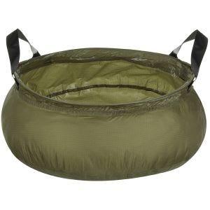 MFH Folding Bowl with Bag OD Green