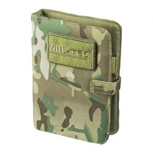 Mil-Tec Tactical Notebook Small Multitarn
