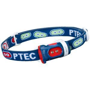 Princeton Tec Bot Headlamp White LED Blue/Red Case