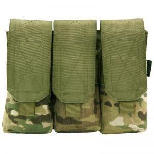 Pro-Force Triple M4/M16 Magazine Pouch MOLLE MultiCam
