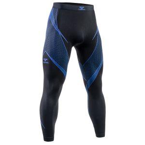 Tervel Optiline Long Bottoms Black/Blue