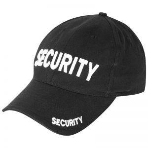Viper Security Baseball Hat Black