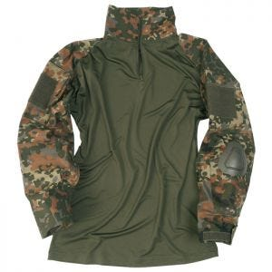 Mil-Tec Warrior Shirt with Elbow Pads Flecktarn