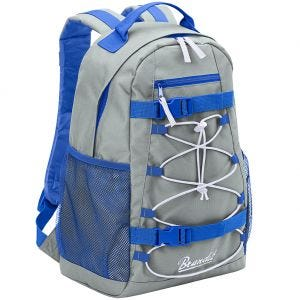 Brandit Urban Cruiser Backpack Gray / Blue / White