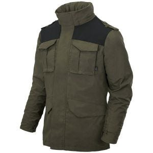 Helikon Covert M-65 Jacket Taiga Green / Black
