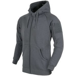 Helikon Urban Tactical Hoodie Lite Full Zip Gray