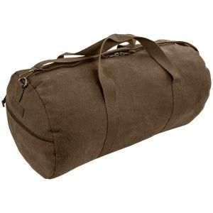 Highlander Crieff Canvas Roll Bag 45L Brown