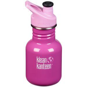 Klean Kanteen Kid Sport 355ml Bottle Sport Cap Bubble Gum