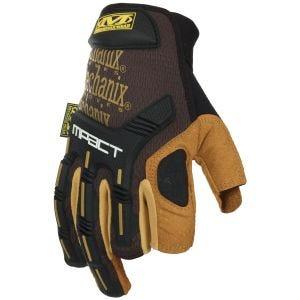 Mechanix Wear M-Pact Framer Leather Gloves Brown
