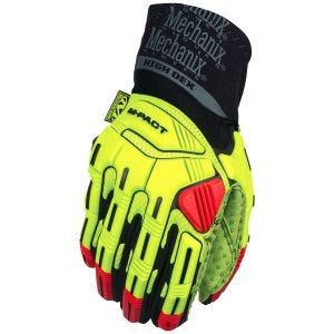 Mechanix Wear M-Pact XPLOR Hi-Dexterity Gloves Fluorescent Yellow