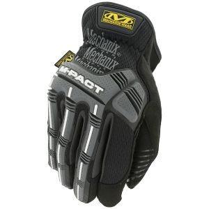 Mechanix Wear M-Pact Open Cuff Gloves Black/Gray
